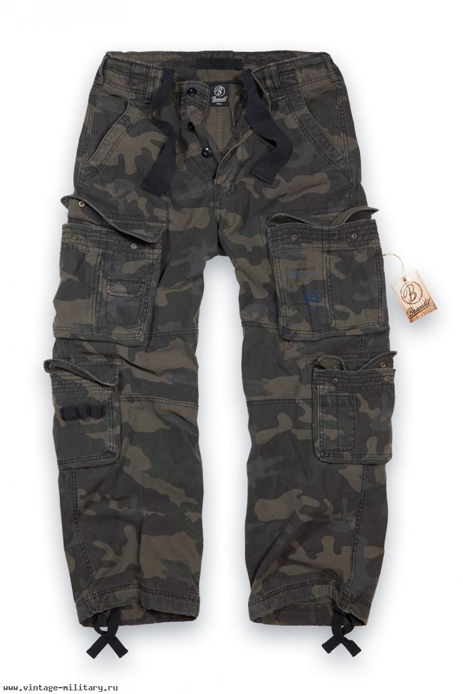 Штаны мужские Pure Vintage Trouser darkcamo