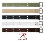 Rothco Ремень UF Vintage Belt W/Double Prong Buckle оливковый, Rothco