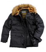 Alpha Industries Куртка Arctic Jacket black, Alpha Industries