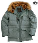 Alpha Industries Куртка Arctic Jacket steelgreen, Alpha Industries