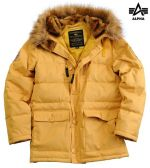 Alpha Industries Куртка Arctic Jacket mustard, Alpha Industries
